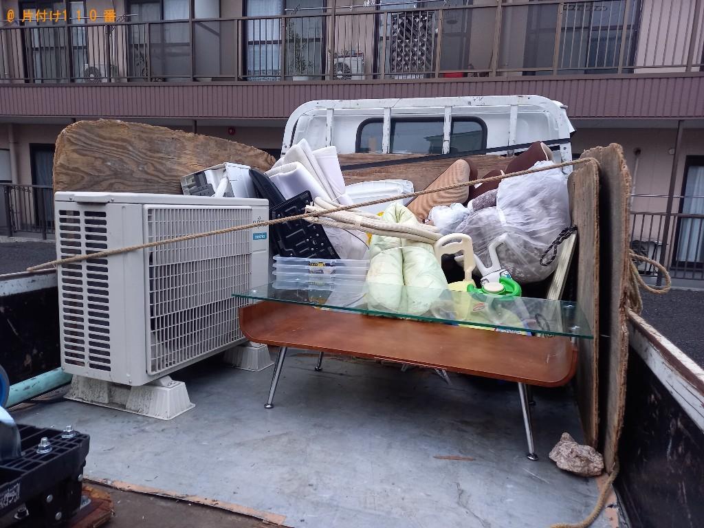 テレビ、エアコン、カーペット、ガラステーブル等の回収