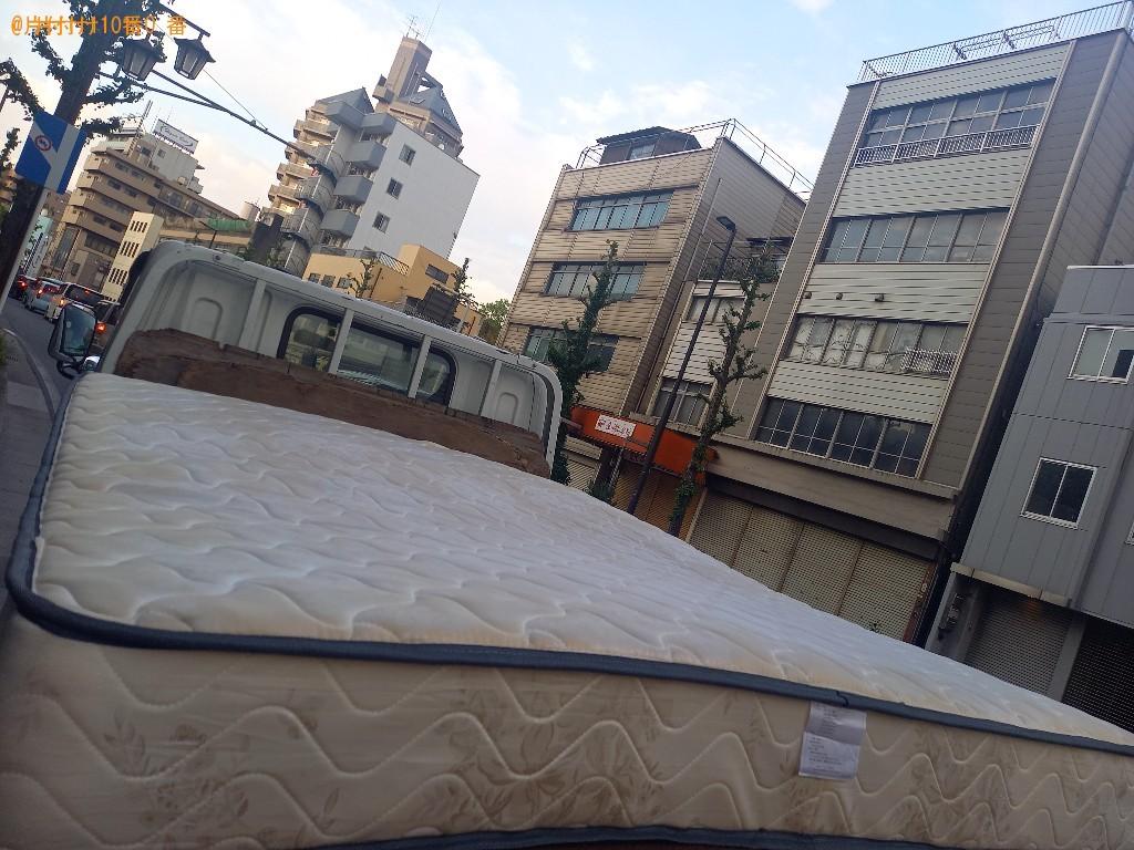 【千葉市中央区】クイーンベッドマットレスの回収・処分ご依頼