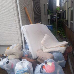【松戸市】一般ごみ、マットレス付きセミダブルベッド等 の回収